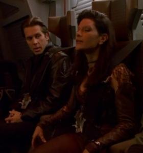 """""""I'm a bit eccentric as captains go."""" - You said it Gideon"""